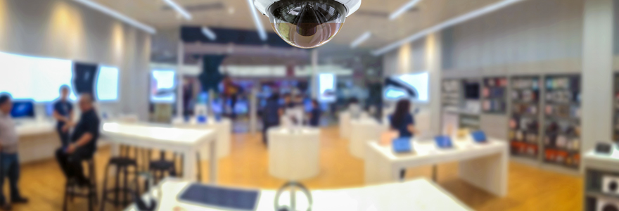 caméra de surveillance utiliser pour sécuriser