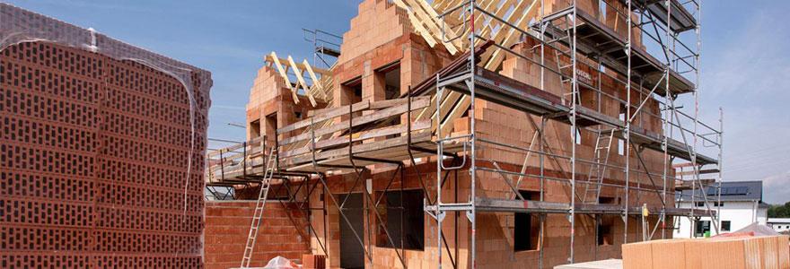 Travaux de construction de maison