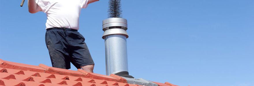 Devis pour l'entretien et le ramonage d'une cheminée
