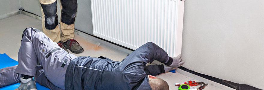 installation de radiateur électrique