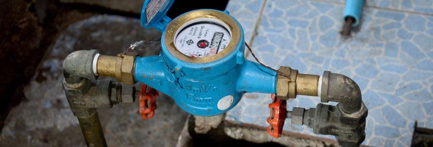 Détecter une fuite d'eau après compteur