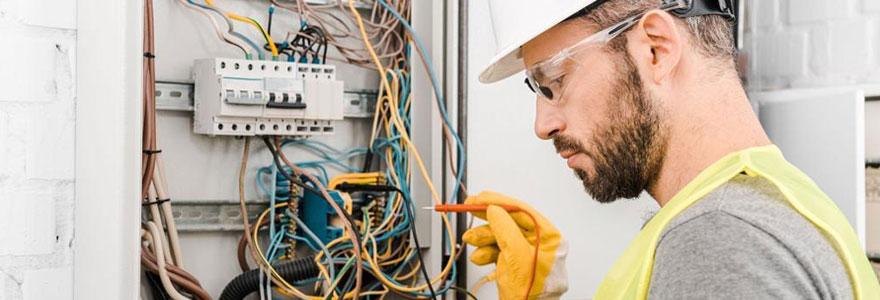 Travaux d'électricité générale